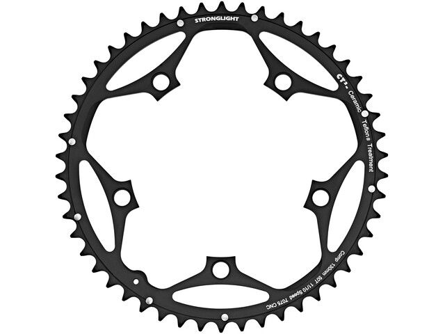 STRONGLIGHT Type 130 S Chainring 5 hole outside 10/11x black